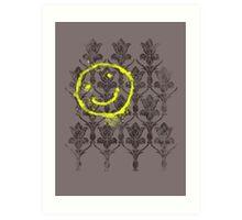 221B wallpaper Art Print