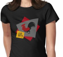 Chinese Zodiac Year of The Rooster Womens Fitted T-Shirt