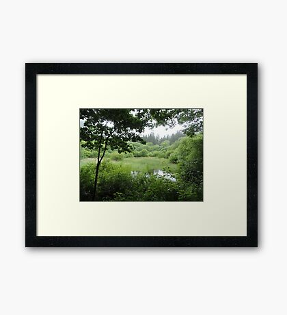 The Earth Is What We Have In Common Framed Print