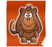 Monkey, Cartoon, Monkey business,  Poster