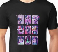 Forms of Twilight Sparkle Unisex T-Shirt