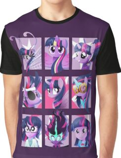 Forms of Twilight Sparkle Graphic T-Shirt