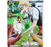 Long Live The Chickens iPad Case/Skin
