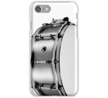 brushed aluminum snare iPhone Case/Skin