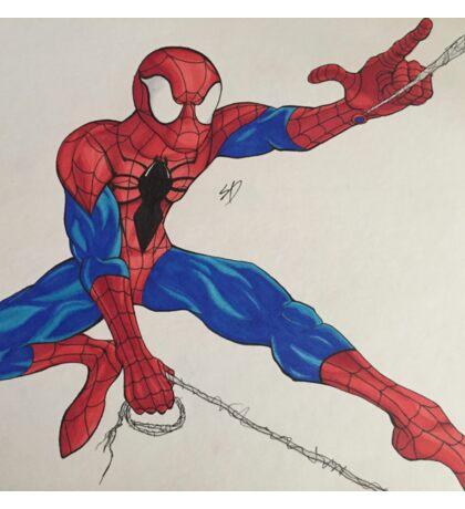 Spider-Man webslinging Sticker