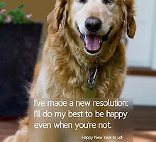 HAPPY DOG by Christine Duvivier