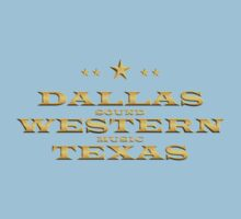Golden Dallas Western Texas One Piece - Short Sleeve