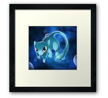 Shiny Mew Pokemon Framed Print
