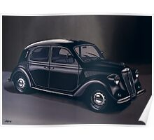 Lancia Ardea 1939 Painting Poster