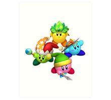 Four Kirbys Art Print