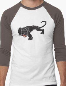 Brookside Panther Men's Baseball ¾ T-Shirt