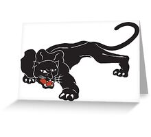 Brookside Panther Greeting Card