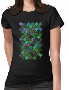Watercolor Lovely Pattern XIV Womens Fitted T-Shirt