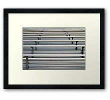Bleachers Framed Print