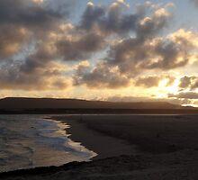 Sunset in Witsand by Hermien Pellissier