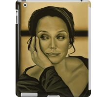 Kristin Scott Thomas Painting iPad Case/Skin