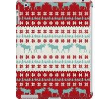 """A Moose for Christmas"" iPad Case/Skin"