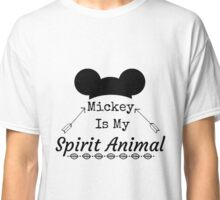Mickey Is My Spirit Animal Mouse Ears Classic T-Shirt