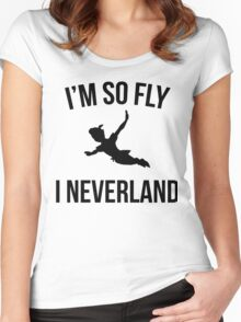I'm So Fly I Neverland Women's Fitted Scoop T-Shirt