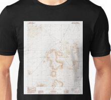 USGS TOPO Map California CA Black Hills 100352 1987 24000 geo Unisex T-Shirt