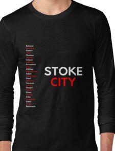 Stoke City 2016/17 squad original design Long Sleeve T-Shirt