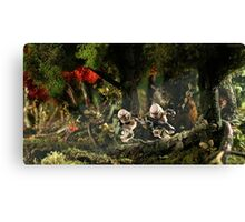 Stormtroopers behind enemy lines Canvas Print