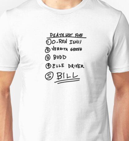 Bill List Unisex T-Shirt