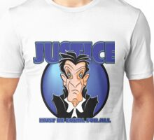 JUSTICE MUST BE EQUAL FOR ALL Unisex T-Shirt