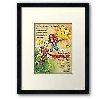 The Goombas Framed Print