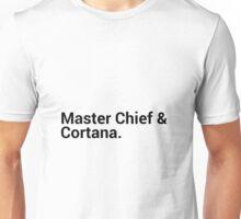 Master Chief and Cortana Unisex T-Shirt