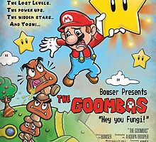 The Goombas (blue version) by JakGibberish