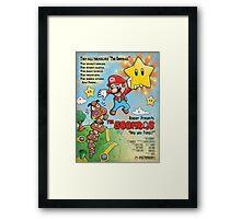 The Goombas (blue version) Framed Print