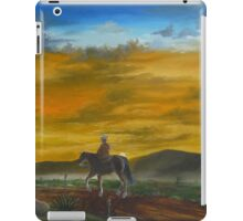 Riding Off Into The Sunset iPad Case/Skin