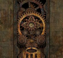 Infernal Steampunk Machine #2C phone case by Steve Crompton