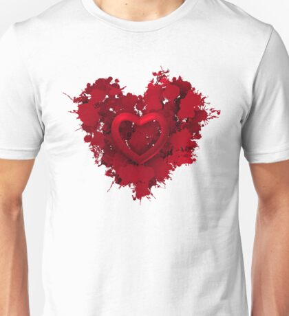 Red love 1 Unisex T-Shirt