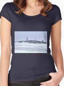 Snow 'birds' B-52s Women's Fitted Scoop T-Shirt