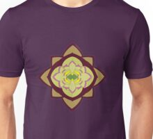 Green rose mandala Unisex T-Shirt