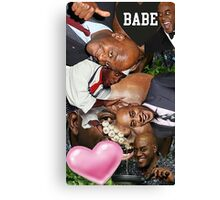 Spicy collage  Canvas Print