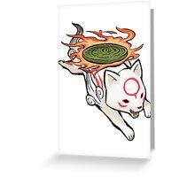 Okamiden Greeting Card
