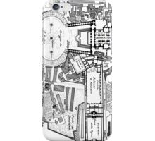 Vintage Map of The Vatican (1914) iPhone Case/Skin