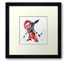 Shiny Yveltal Pokemon Framed Print