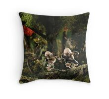 Stormtroopers behind enemy lines Throw Pillow