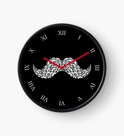Moustache Watch Clock