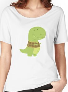 Funny Dinosaur Women's Relaxed Fit T-Shirt