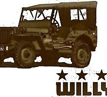 Willys Jeep by pitfire