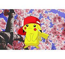 Pikachu Floral Photographic Print