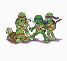Little Mutant Ninja Turtles One Piece - Long Sleeve