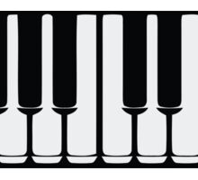 Music Keyboard Sticker