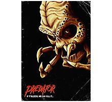 Evil Predator Poster Photographic Print