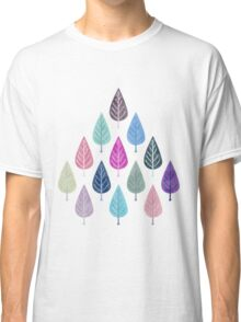 Watercolor Forest Pattern III Classic T-Shirt